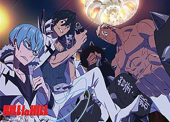 Kill la Kill Wall Scroll - Elite Three [LONG]
