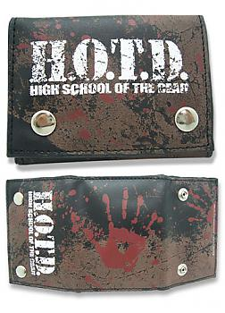 High School of the Dead Wallet - Bloody Hand Print