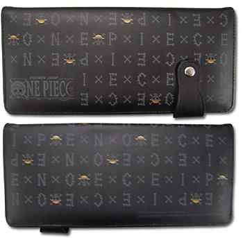 One Piece Wallet - One Piece Text