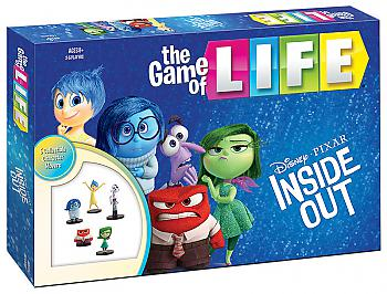 Inside Out Board Games - Game of Life Collector's Edition (Disney)