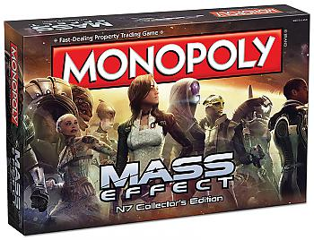 Mass Effect Board Games - Monopoly Collector's Edition