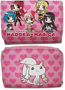Puella Magi Madoka Magica Wallet - Group