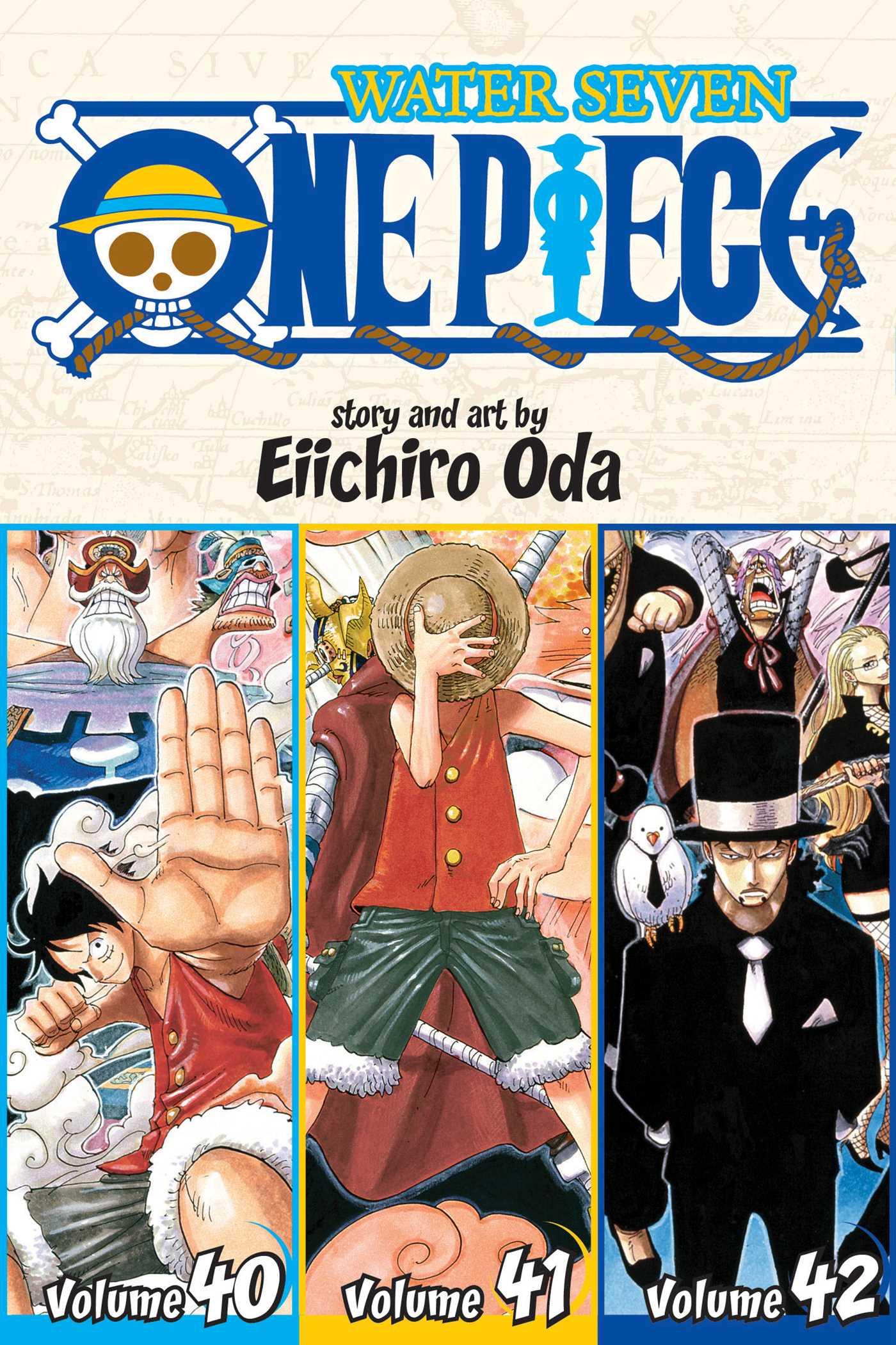 One Piece Omnibus Manga Vol