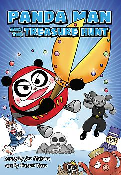 Panda Man and the Treasure Hunt Manga