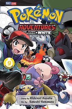 Pokemon Adventures: Black and White Manga Vol.   9