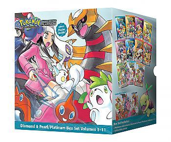 Pokemon: Adventures Diamond & Pearl / Platinum Box Set Manga