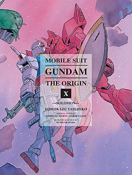 Mobile Suit The Origin Manga Vol. 10 Gundam - Solomon