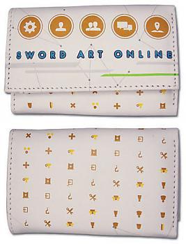 Sword Art Online Wallet - Menus White