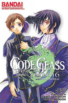 Lelouch Manga Vol.  6 Code Geass - Lelouch of the Rebellion