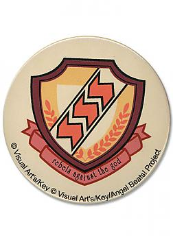 Angel Beats 3'' Button - School Emblem