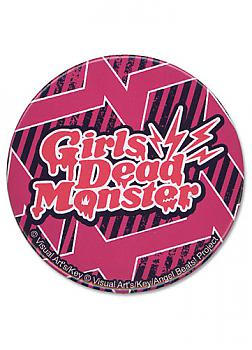 Angel Beats 3'' Button - Girl Dead Monster