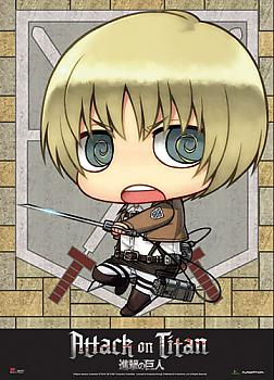 Attack on Titan Wall Scroll - SD Armin