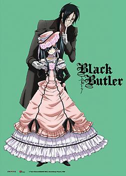 Black Butler Fabric Poster - Sebastian & Ciel Dress Up