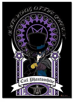 Black Butler Wall Scroll - Ciel Art Nuveau