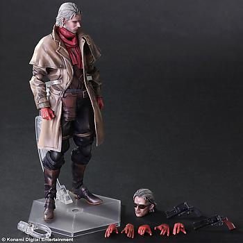 Metal Gear Solid V Play Arts Kai Action Figure - Ocelot (The Phantom Pain)