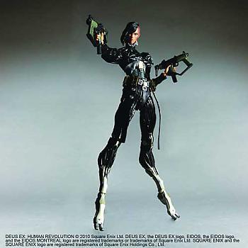 Deus Ex Play Arts Kai Action Figure - Human Revolution - Federova