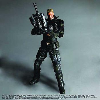 Deus Ex Play Arts Kai Action Figure - Human Revolution - Barret