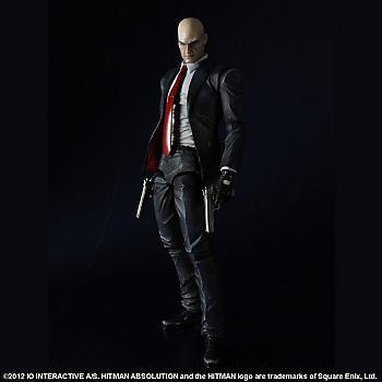 Hitman Absolution Play Arts Kai Action Figure - Agent 47