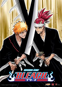 Bleach Wall Scroll - Ichigo vs. Renji