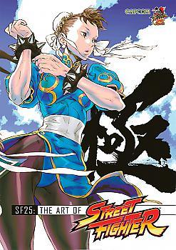 SF25 Art Book - The Art of Street Fighter