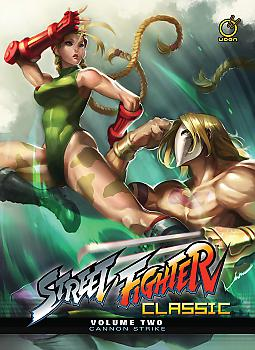 Street Fighter Classic Manga Vol.  2 Cannon Strike (HC)