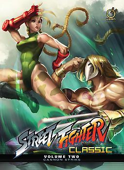 Street Fighter Classic Manga Vol.  2 Cannon Strike (HC)