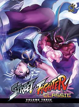 Street Fighter Classic Manga Vol.  3 Psycho Crusher (HC)
