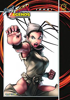 Street Fighter Legends Manga Vol.  3: Ibuki