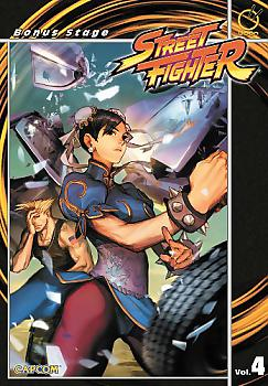 Street Fighter Manga Vol.  4: Bonus Stage