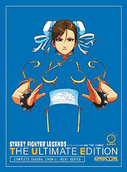 Street Fighters Legends: Ultimate Edition Manga
