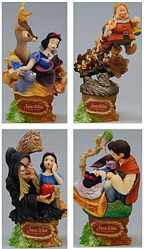 Snow White Edition Trading Figures (Display of 4) (Disney)