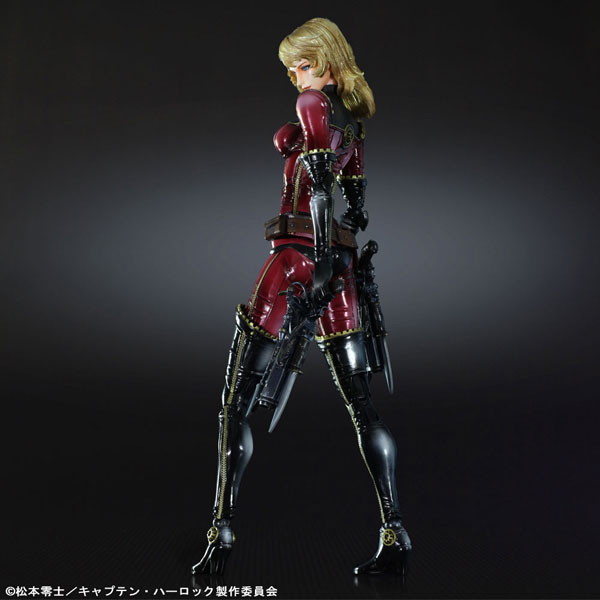 Captain Harlock - Kei Play Arts Figure | Ikon Collectables