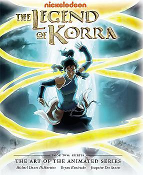 Avatar Legend of Korra Art Book - Book 2 Spirits