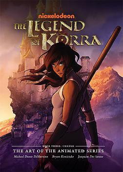Avatar Legend of Korra Art Book - Book 3 Changes