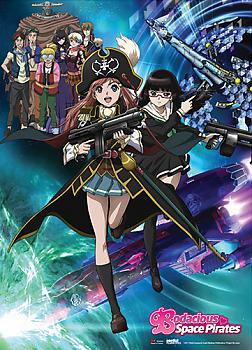 Bodacious Space Pirates Wall Scroll - Key Art