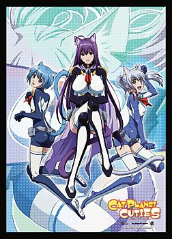 Cat Planet Cuties Wall Scroll - Kuune, Melwin, Chaika