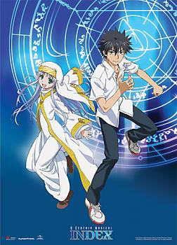 A Certain Magical Index Wall Scroll - Index & Toma