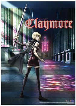 Claymore Wall Scroll - Clare's Back