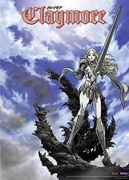 Claymore Wall Scroll - Teresa Sky Scenery