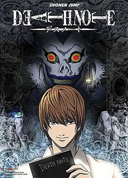 Death Note Wall Scroll - Light and Ryuk
