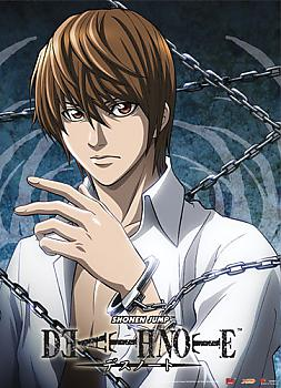Death Note Wall Scroll - Light with Chains