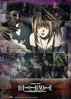 Death Note Wall Scroll - Misa and Light