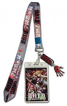 High School of the Dead Lanyard - Bloody Handprint