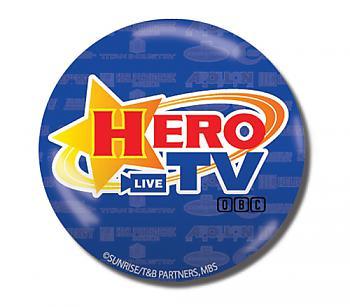 Tiger & Bunny 3'' Button - Hero TV