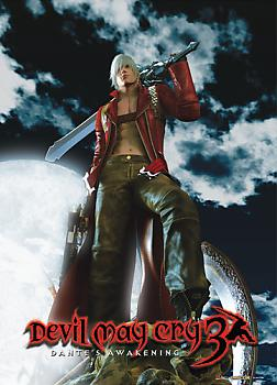 Devil May Cry 3 Fabric Poster - Cover Art