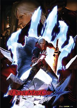 Devil May Cry 4 Fabric Poster - Keyart