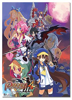 Disgaea 4 Wall Scroll - Cover Art