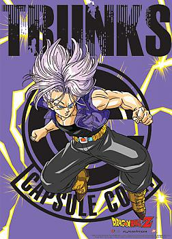 Dragon Ball Z Fabric Poster - Trunks