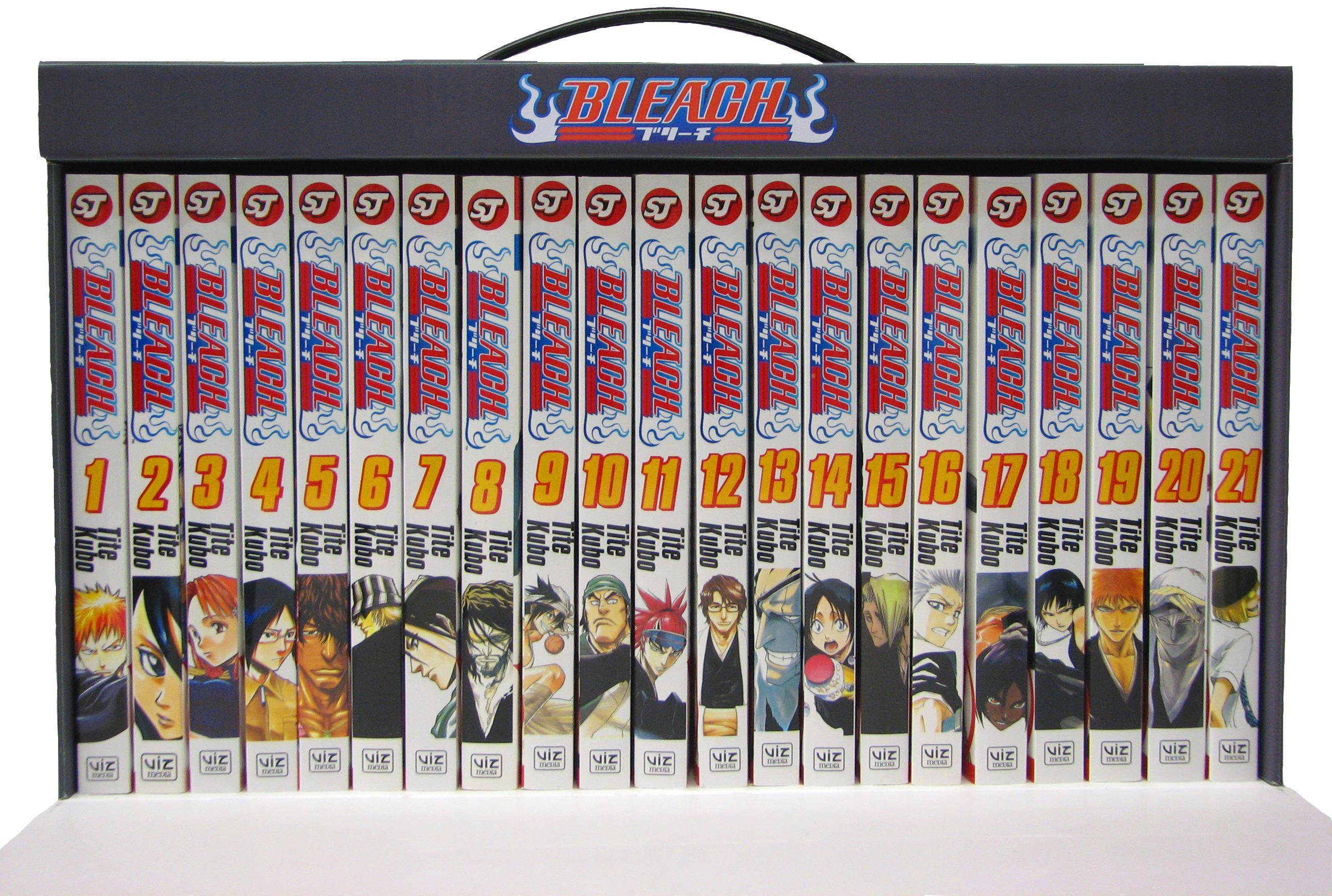 Bleach Manga Box Set - Collection 1 Volumes 1-21 @Archonia_US