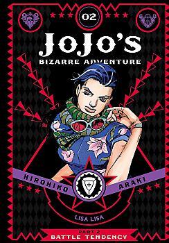 JoJo's Bizarre Adventure Part 2 Battle Tendency Manga Vol.   2